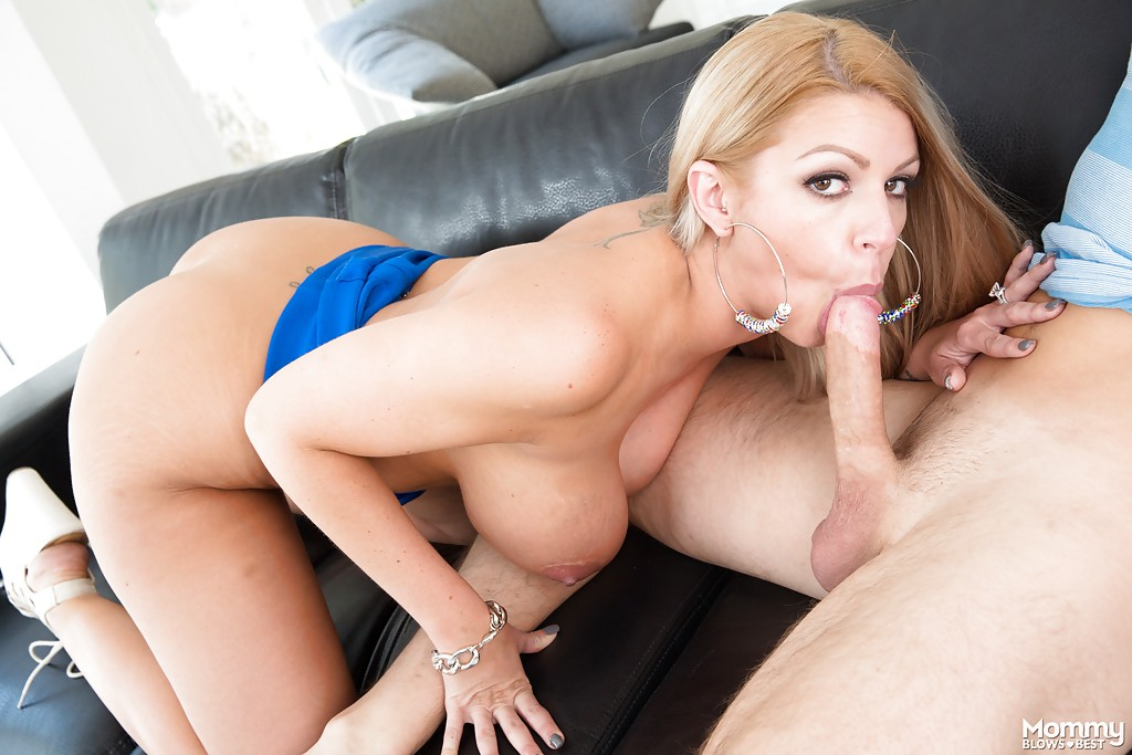 Cheating milf pussy stuffed with a gigantic dick